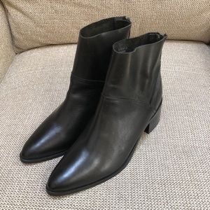 NWOT ASOS Reckon Leather Ankle Boots